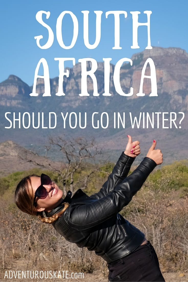 Should you visit South Africa in winter?