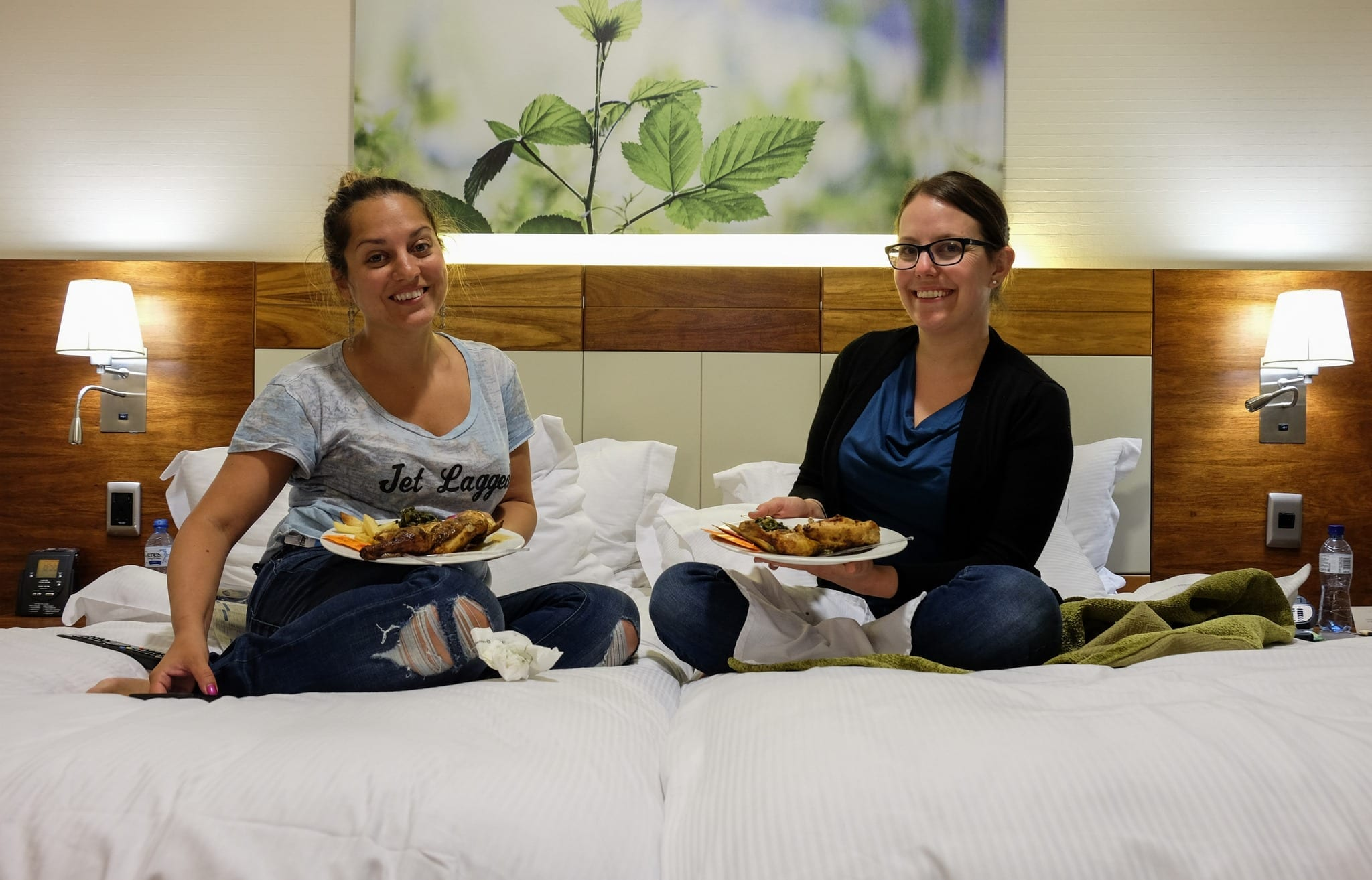 Kate and Beth at the Doubletree Cape Town