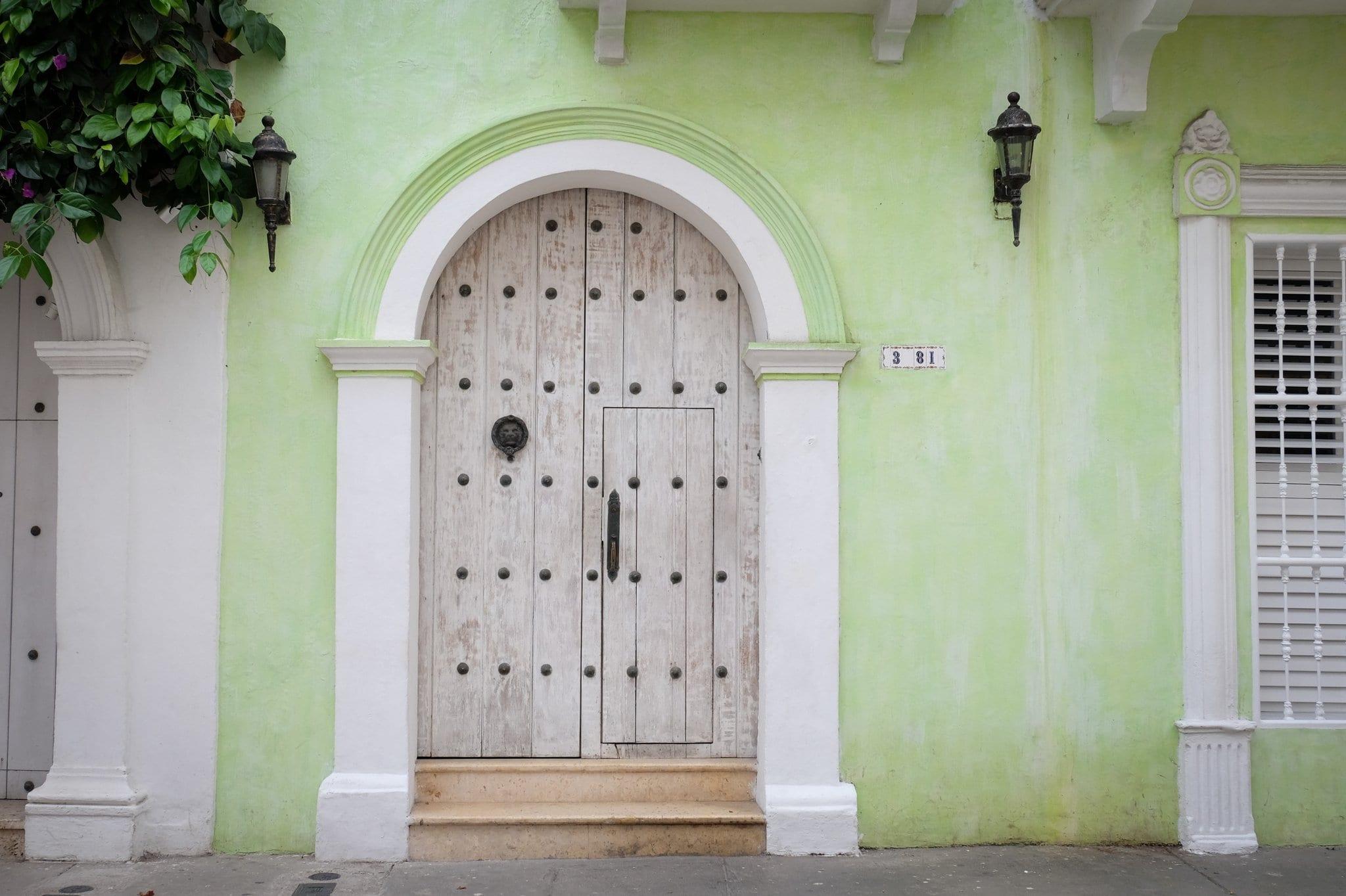Door in Cartagena