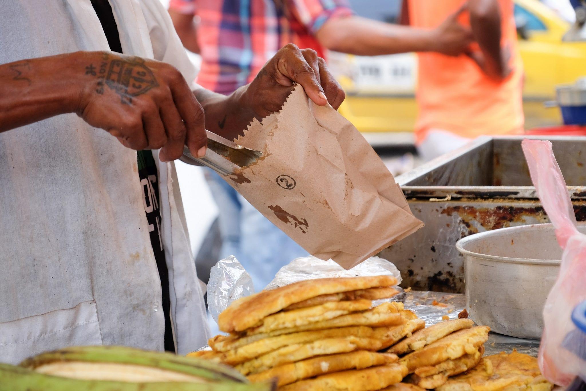 Cartagena Food Vendor