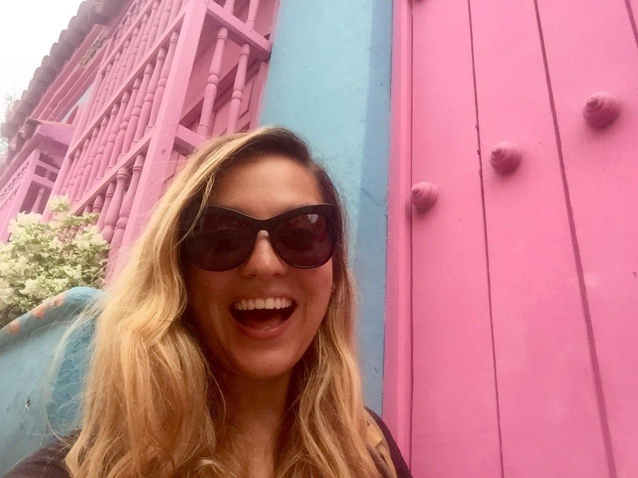 Kate in Cartagena