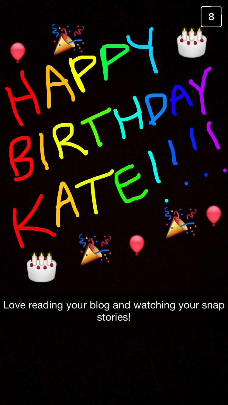 Kate Birthday