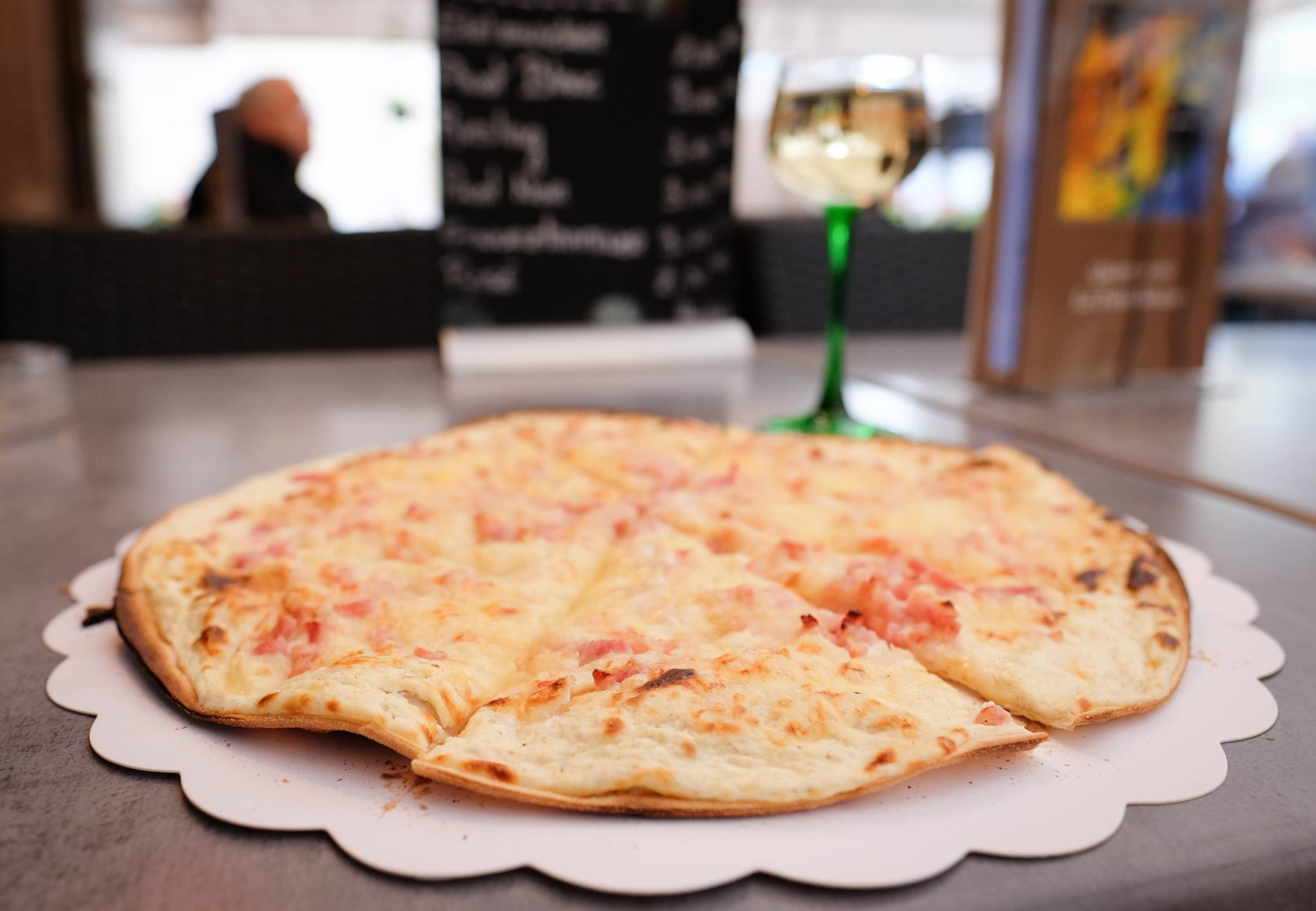 Tarte Flambee in Colmar