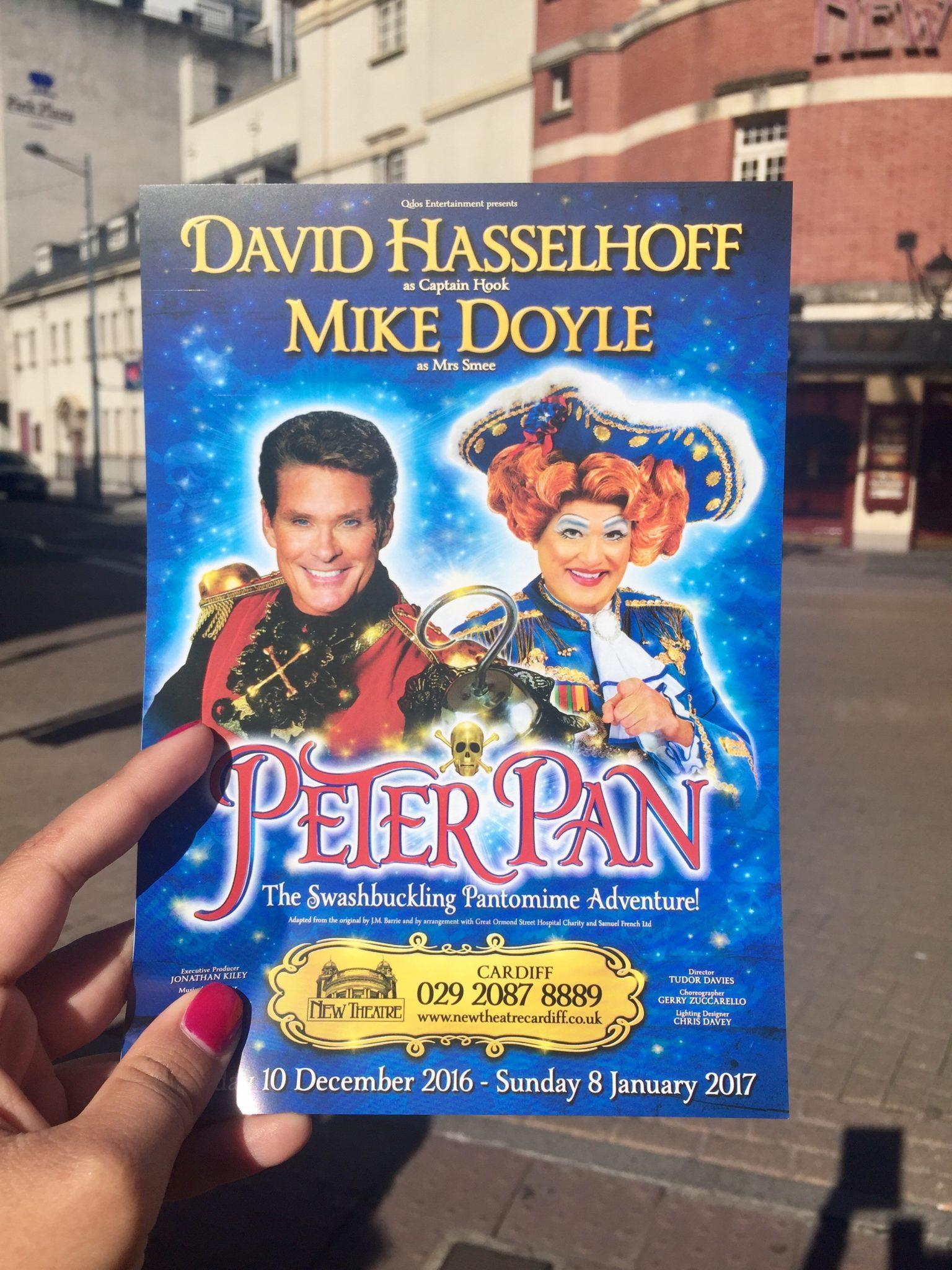 David Hasselhoff in Cardiff