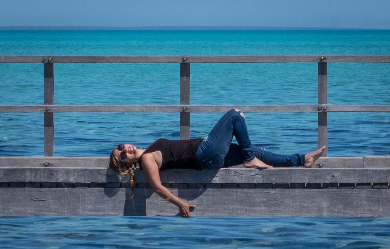 Kate at Hamelin Pool WA