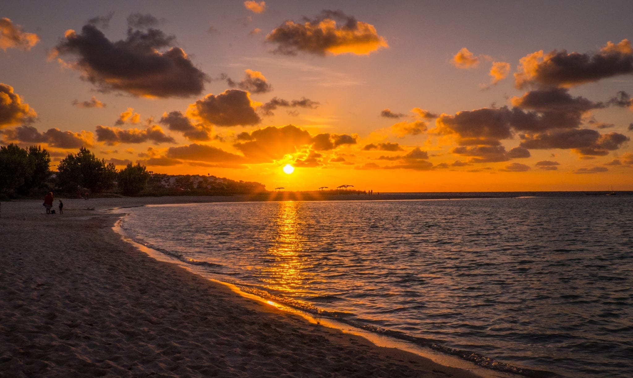 Coral Bay Sunset