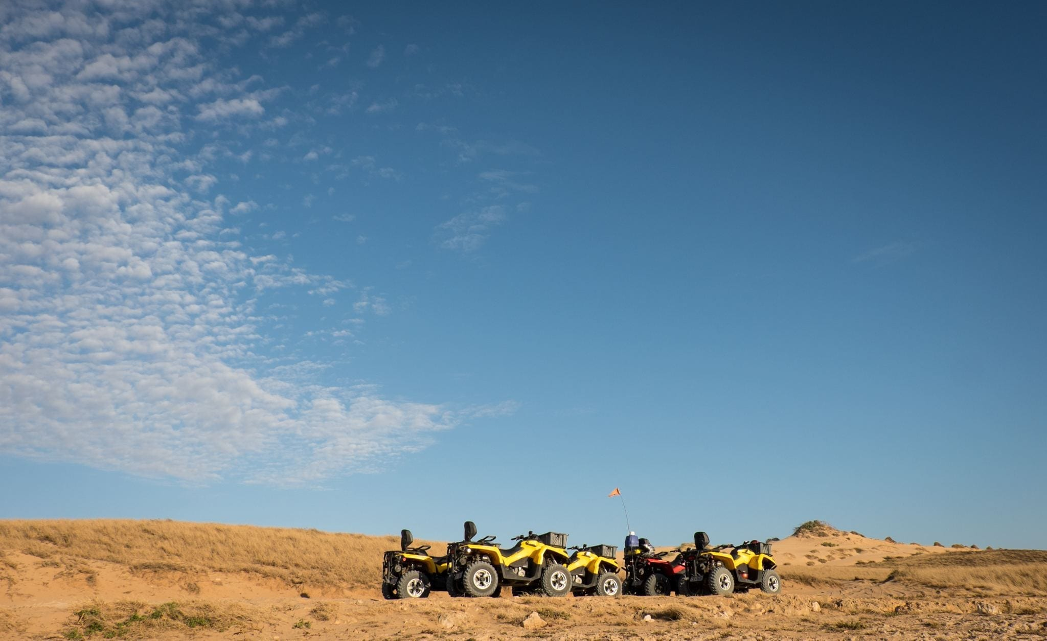 Quad Biking Coral Bay WA