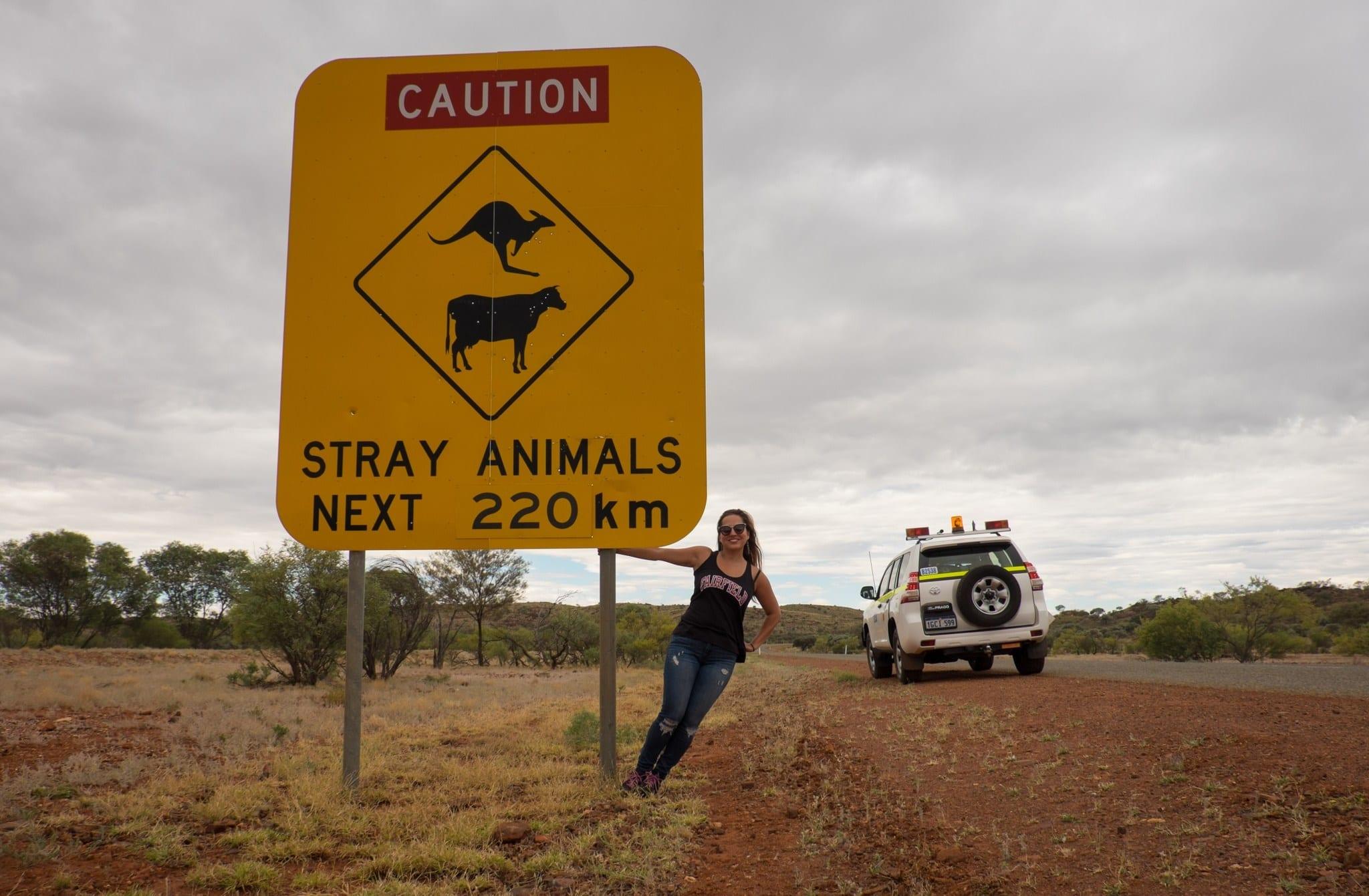 Kate with Animal Sign WA