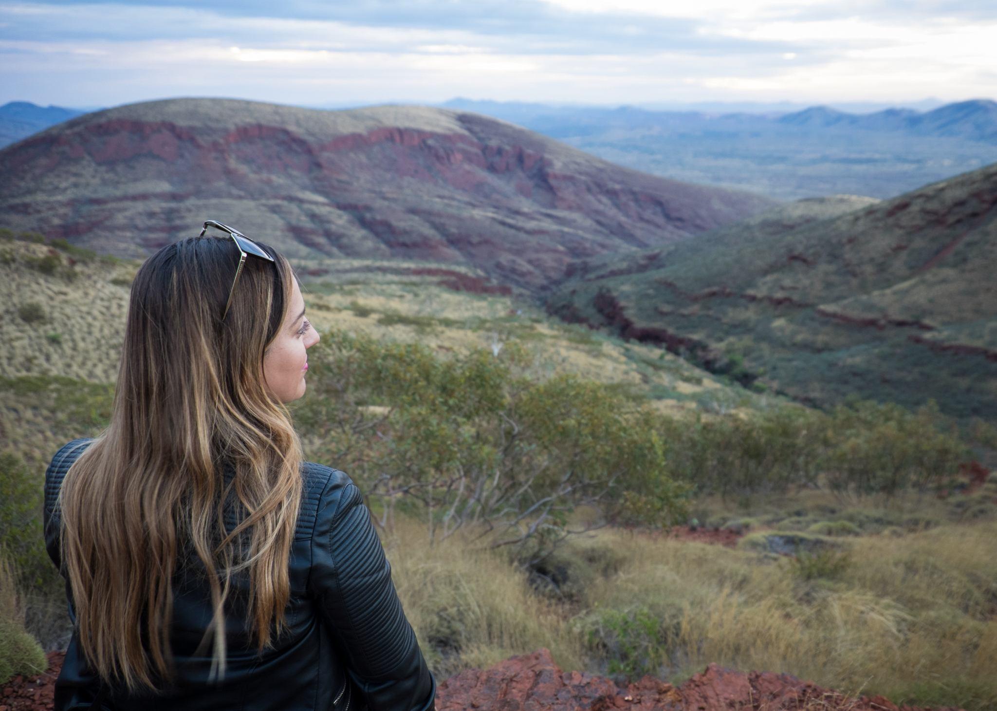 Kate at Mount Nameless