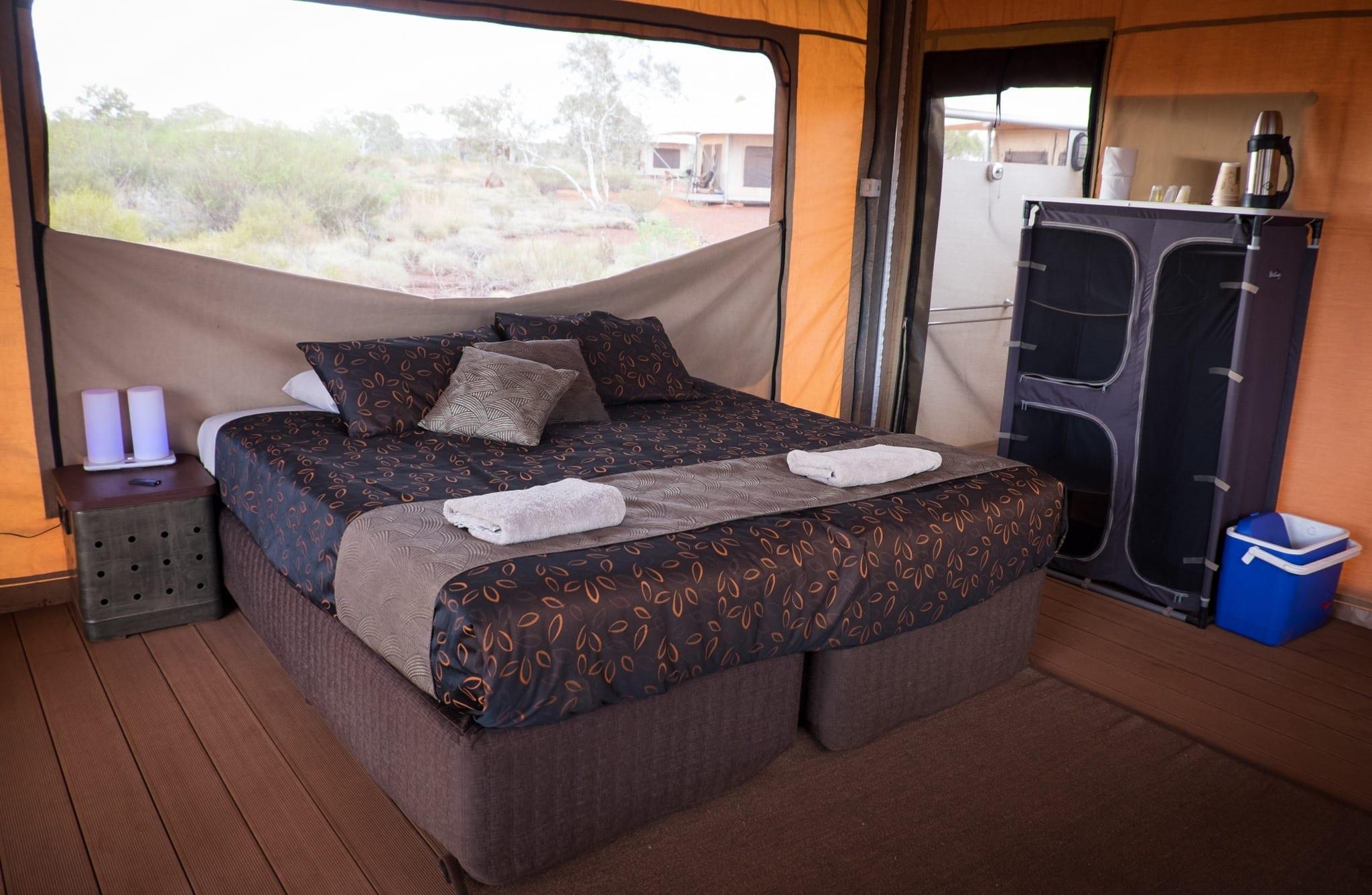 Tent at in Karijini NP