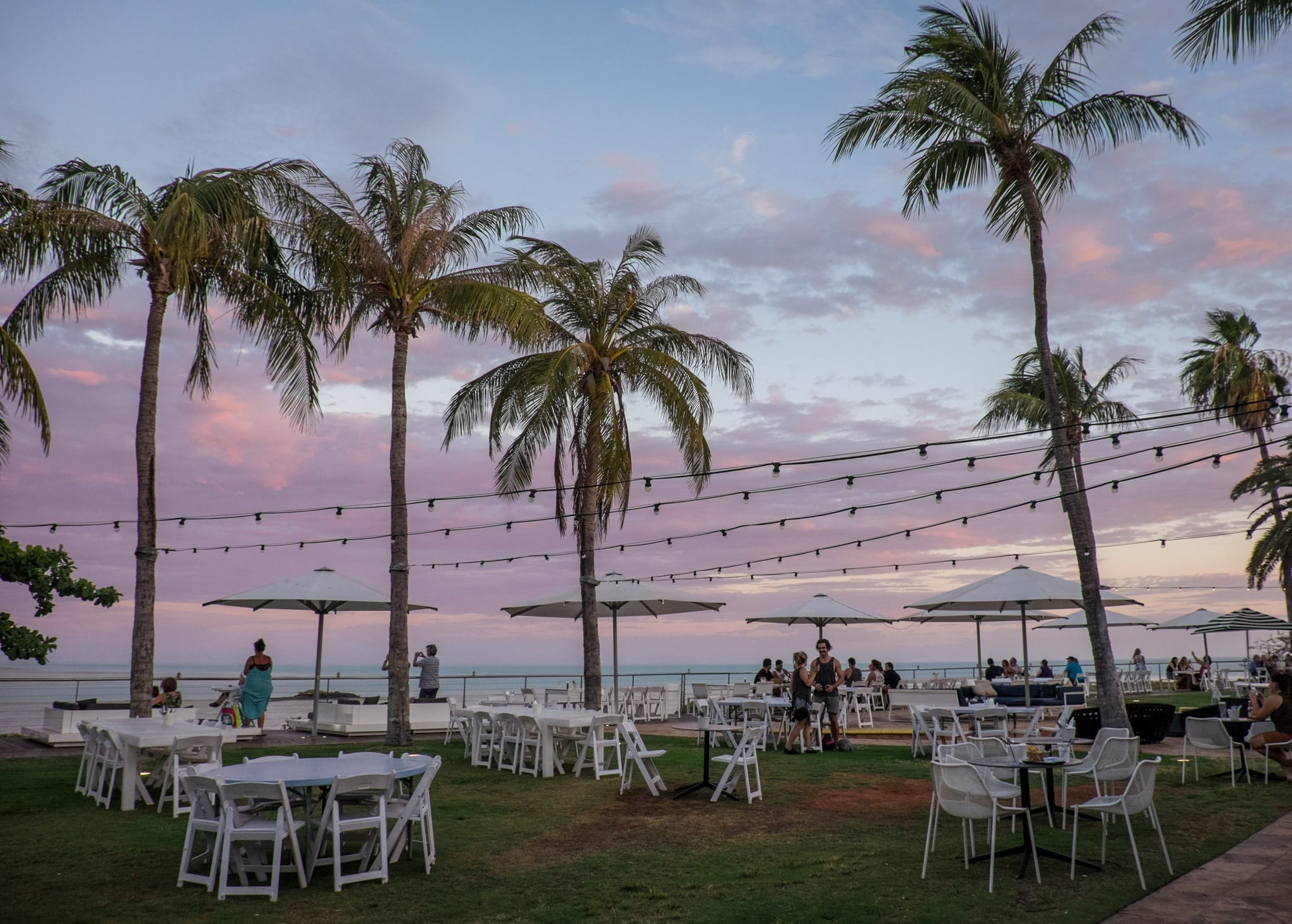 Mangrove Hotel Broome WA Sunset