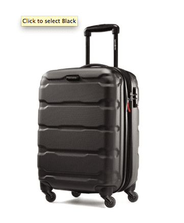 Samsonite Rolling Suitcase