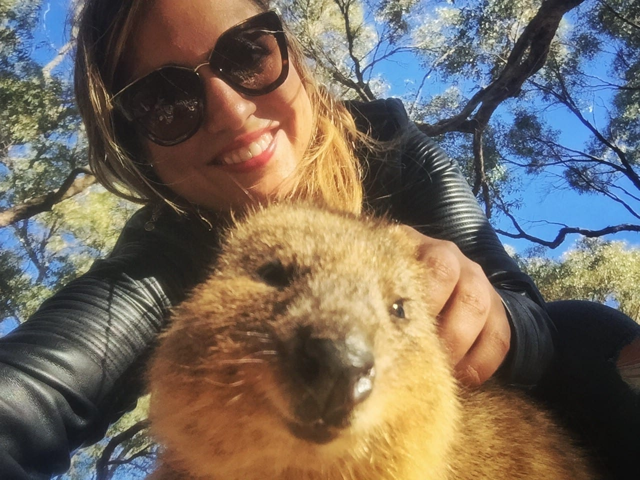 Kate and a Quokka
