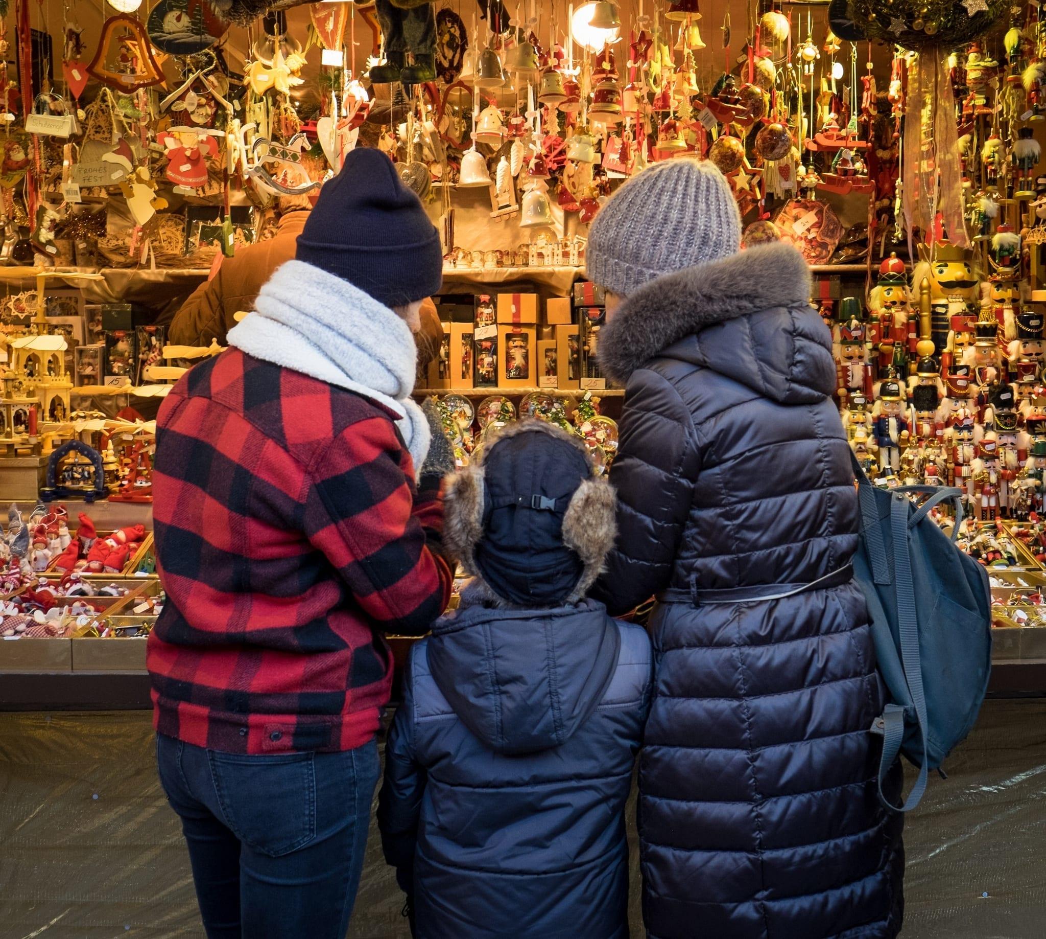 Family Christmas in Bavaria