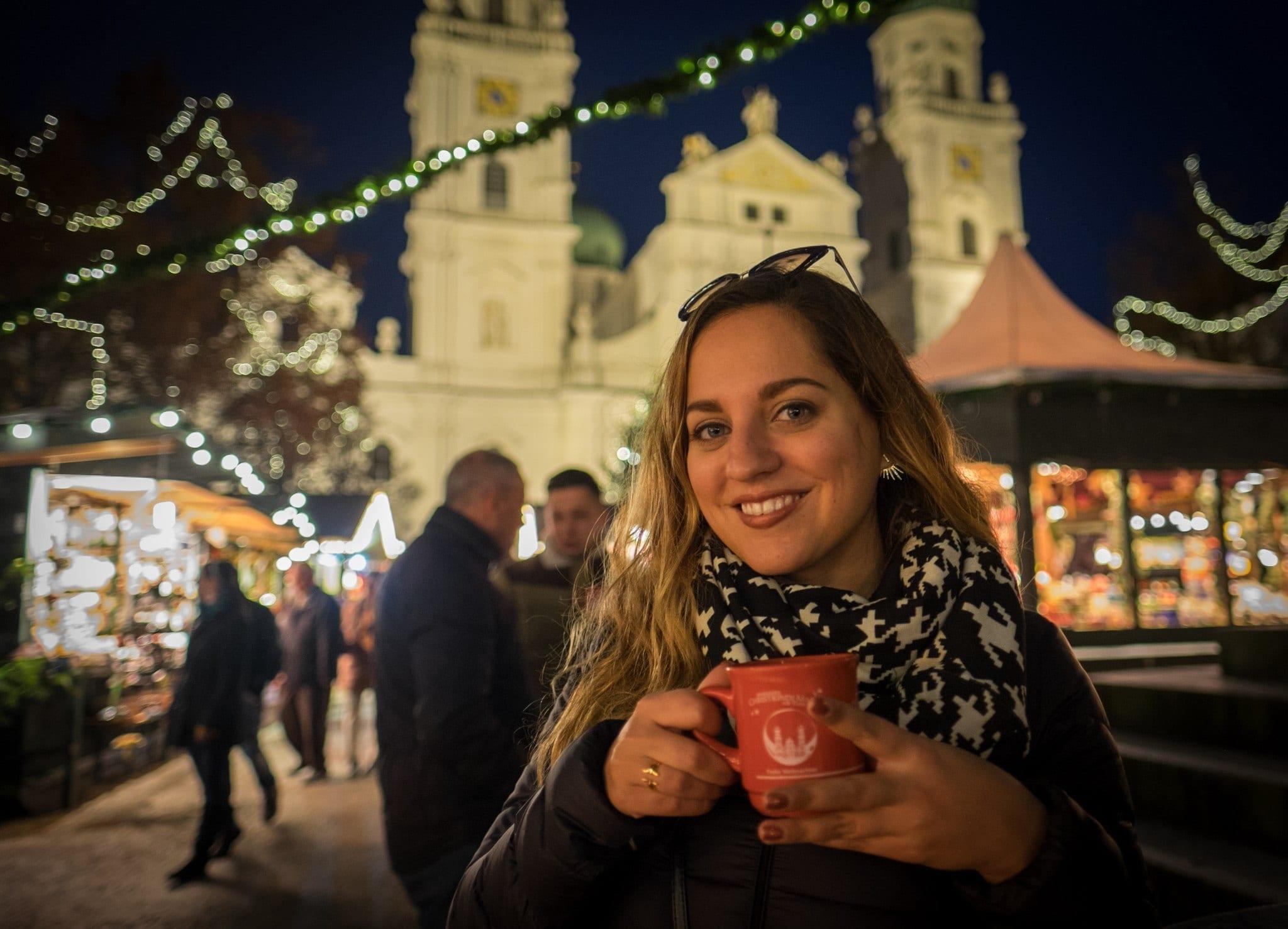 Kate in Passau Christmas in Bavaria