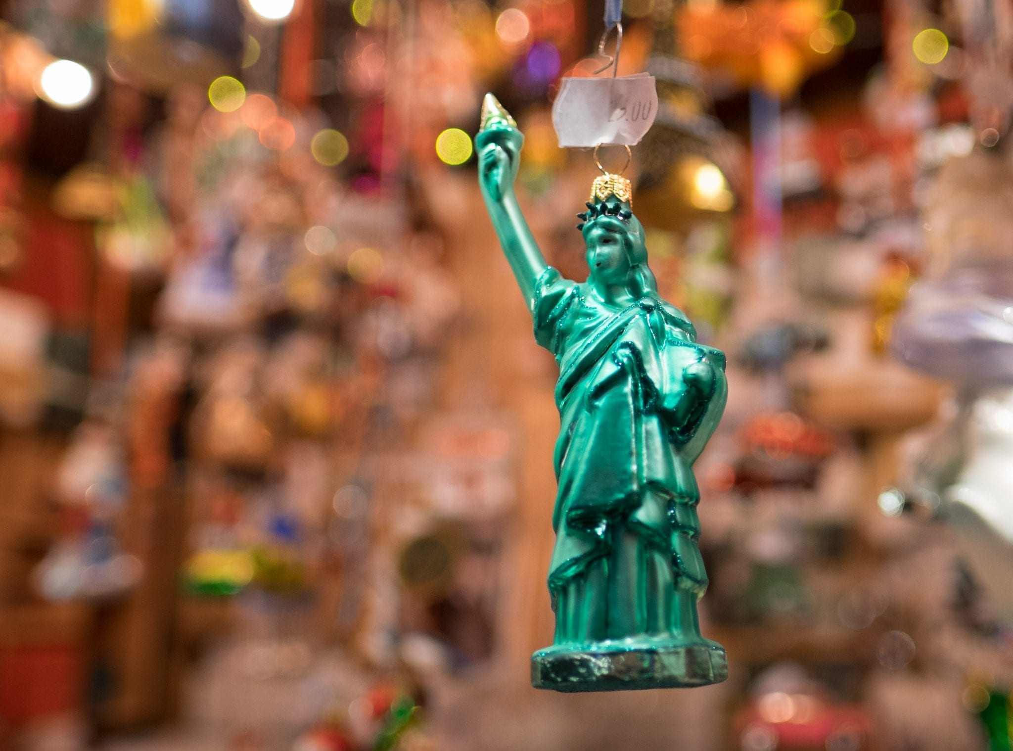 Statue of Liberty Christmas in Bavaria
