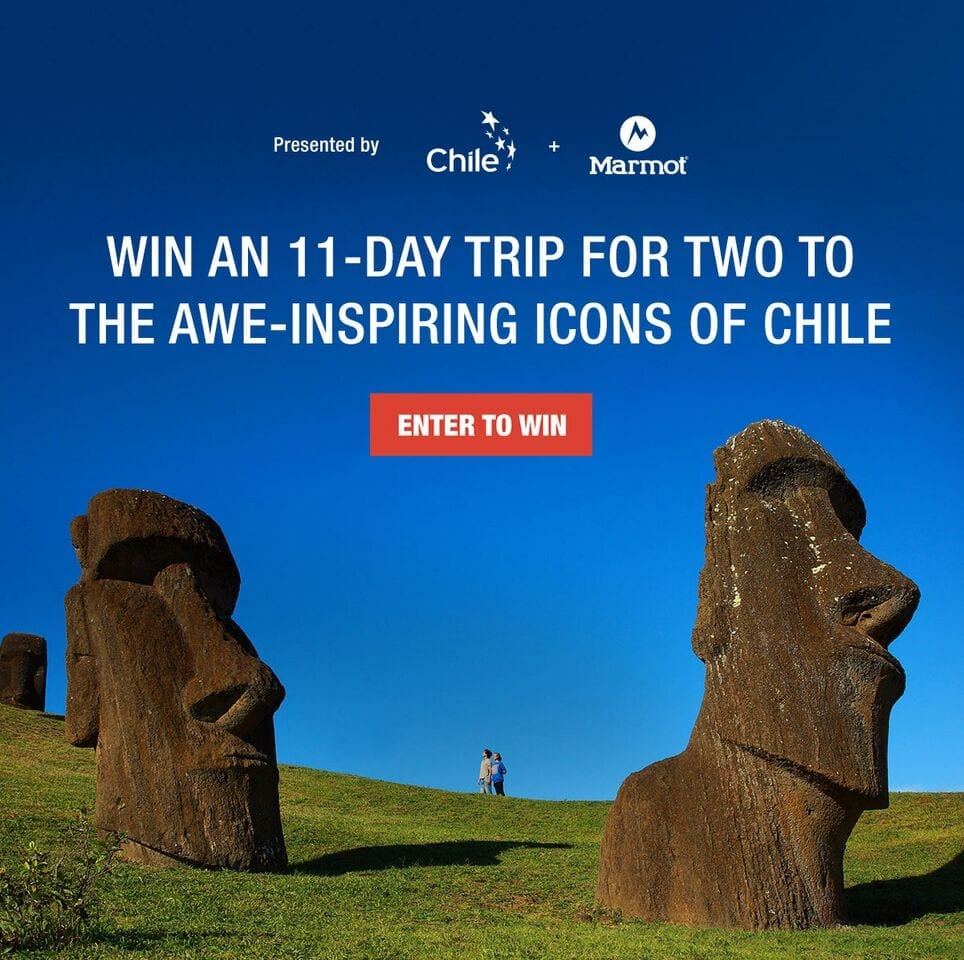 Win a Trip for Two to Chile!