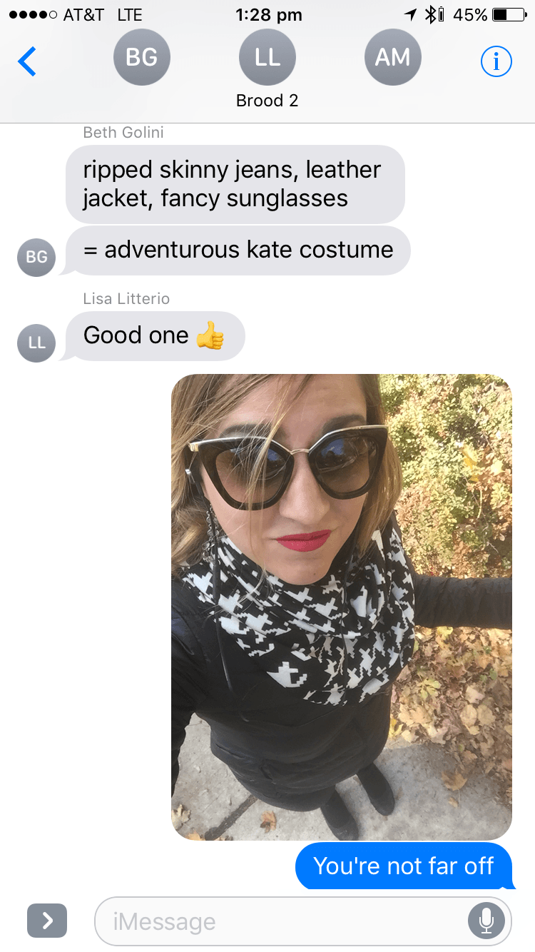 Kate Wardrobe Text