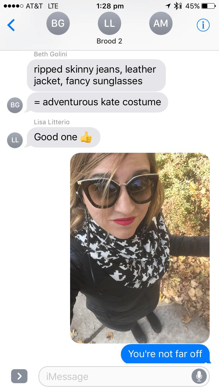 Kate Wardrobe Text