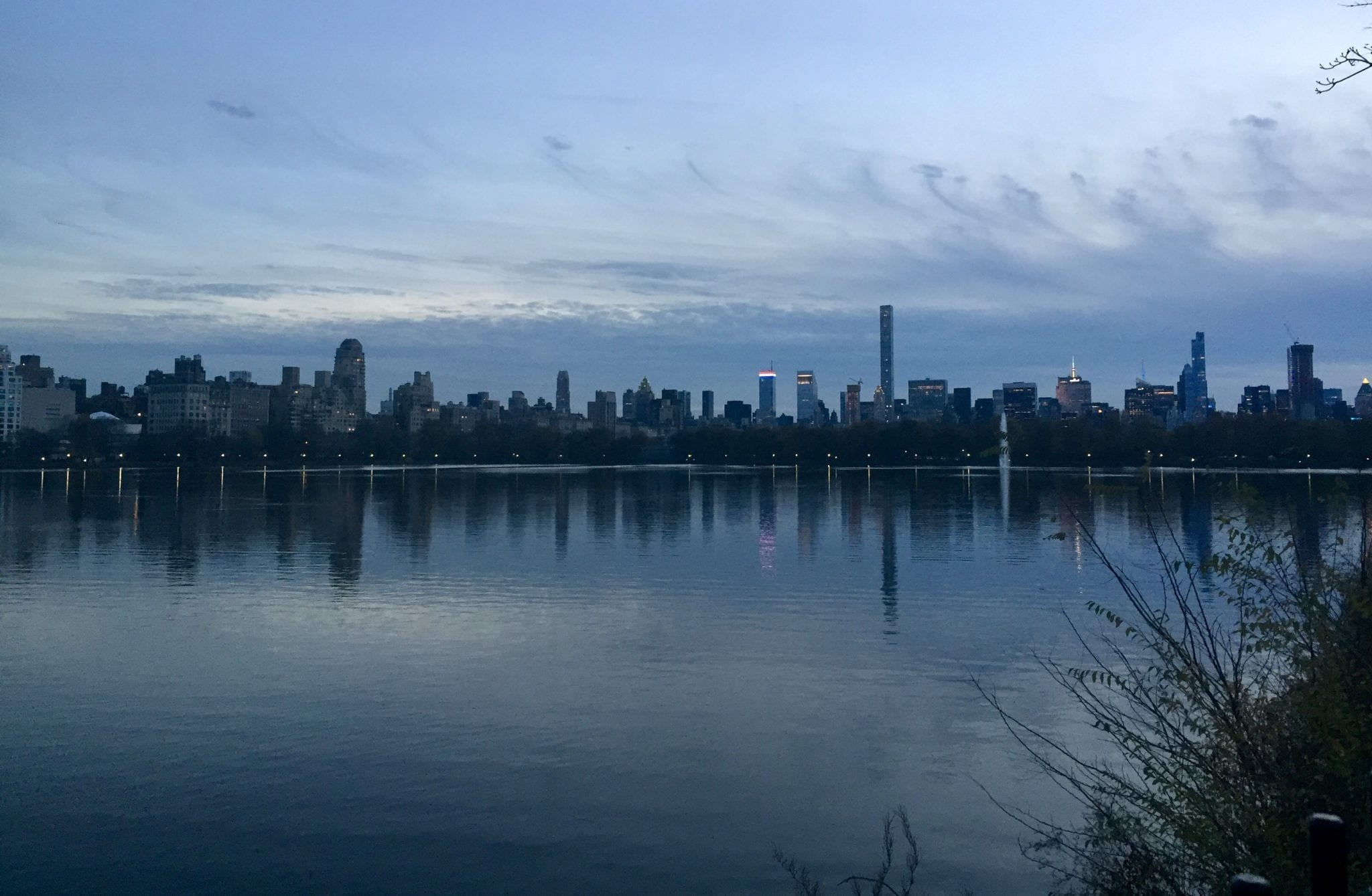 New York from the Reservoir
