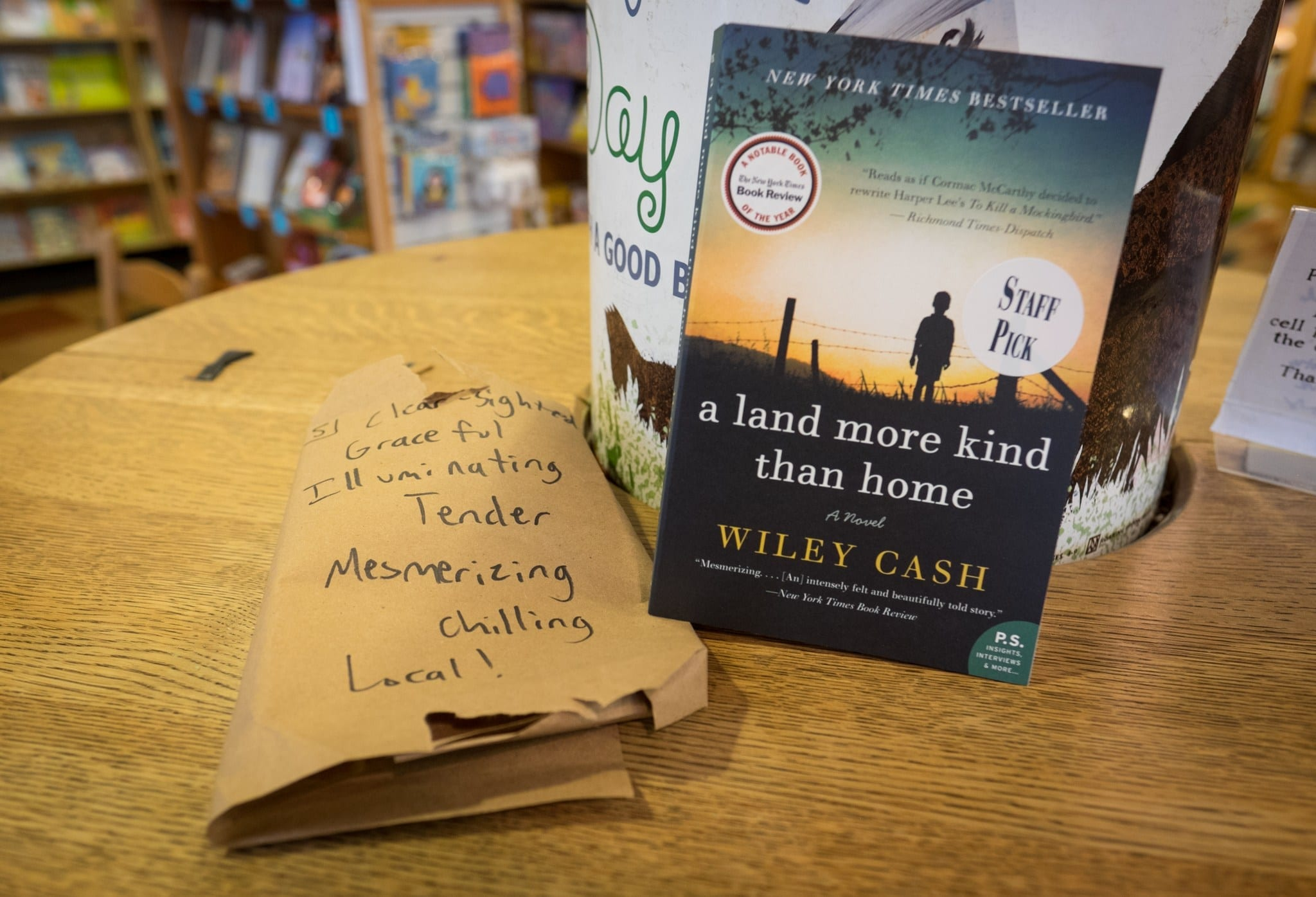 The Book Was A Land More Kind Than Home By Wiley Cash, A Native Of Western  North Carolina The Richmond Timesdispatch Said, €�reads As If Cormac  Mccarthy