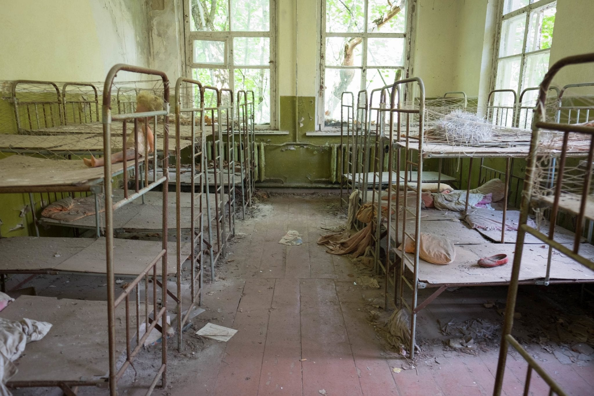 Tour Of Chernobyl As It Exists Today