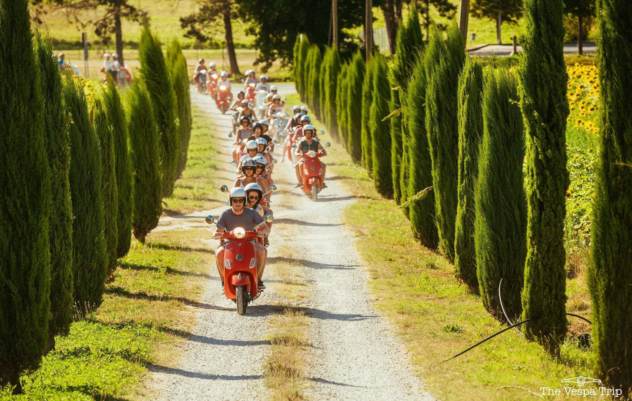 Off the Beaten Path in Italy ? A Tour by Vespa!