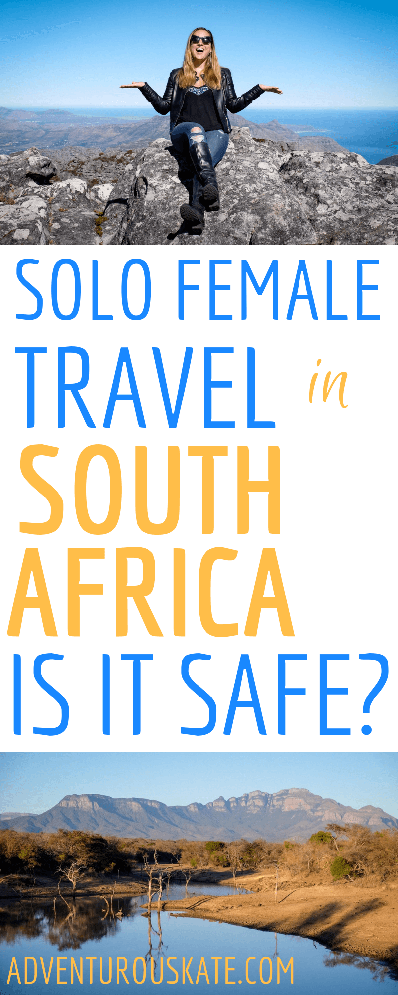 Solo-Female-Travel-in-South-Africa ▷ Viaje en solitario en Sudáfrica: ¿es seguro?