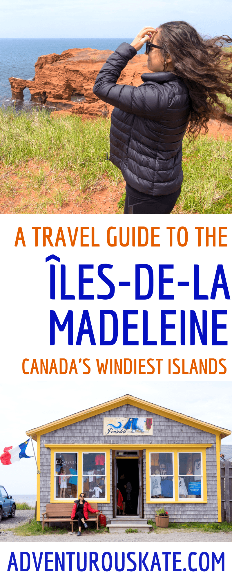 Pinterest graphic: Why You Should Travel to the Îles-de-la-Madeleine