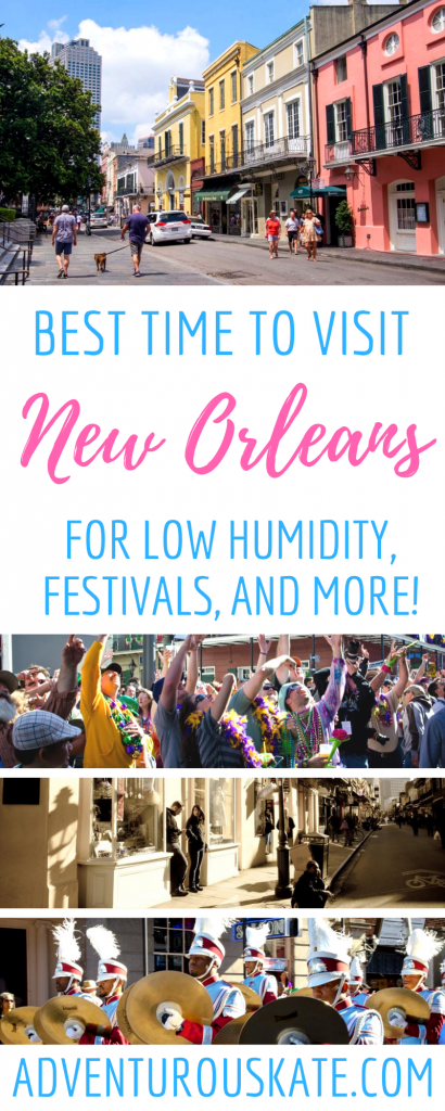 Best Time to Visit New Orleans